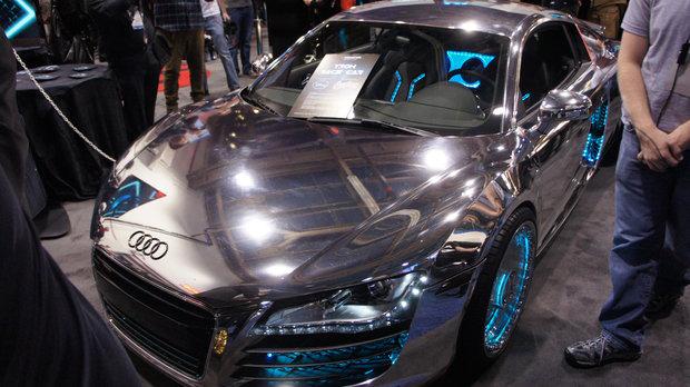Audi R8 x Tron