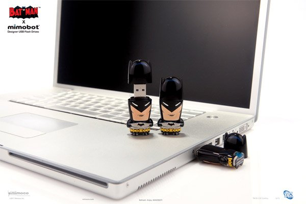 Batman x Mimobot Flash Drives