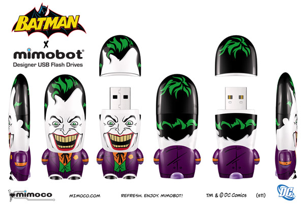 Batman x Mimobot Flash Drives
