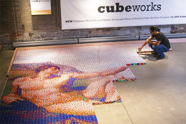 Rubik's Cube x Sistine Chapel