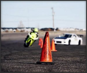 RX-7 vs. ZX-10 Drift Battle