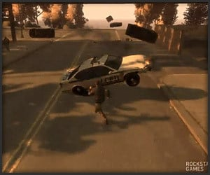 GTA IV Frictionless Cars