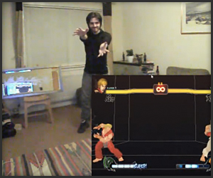 Street Fighter IV x Kinect