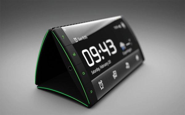 Triple Display Flip Phone