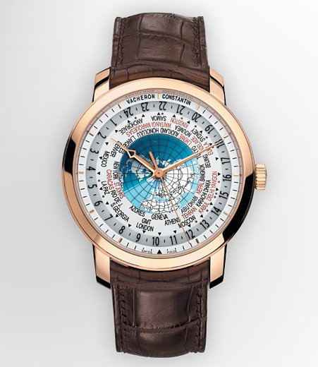 Traditionelle World Time Watch