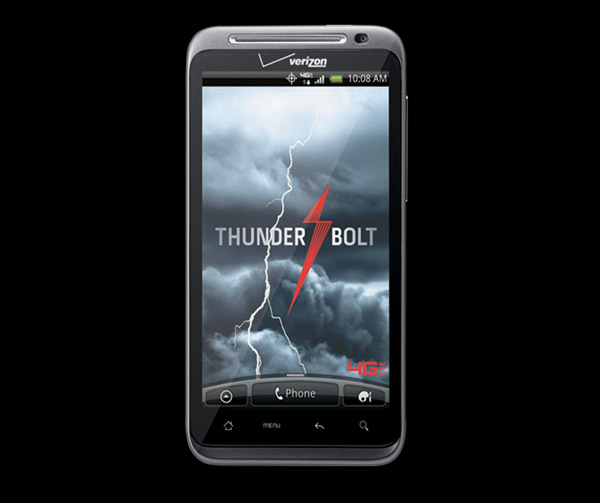 HTC ThunderBolt 4G Phone