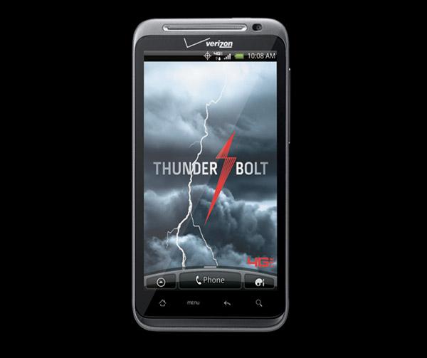 HTC ThunderBolt 4G Phone