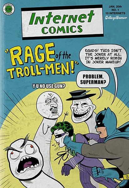 Batman vs. The Internet