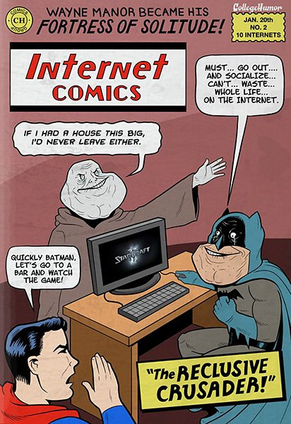 Batman vs. The Internet