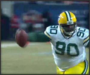 BJ Raji TD Interception