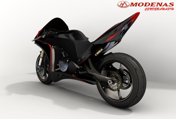 Modenas Biofuel Concept Bike