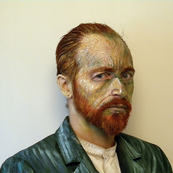 Fake Van Gogh Self Portrait