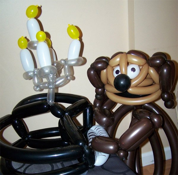 Muppet Balloon Animals