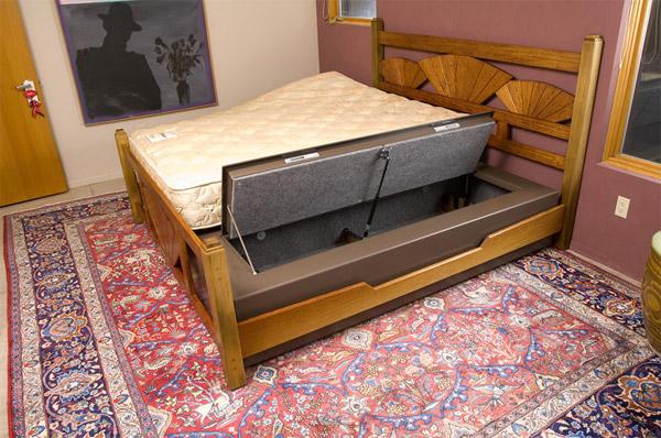 Concealed Bed Safe