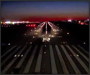 LAX Twilight Landing