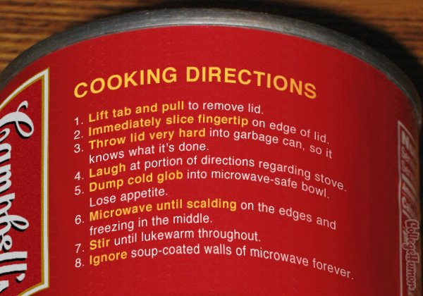 Honest Food Prep Instructions