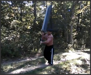 Real Life Buster Sword