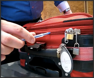 Zippered Luggage Security