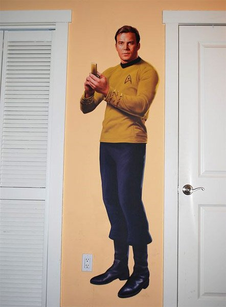 Star Trek Character Decals