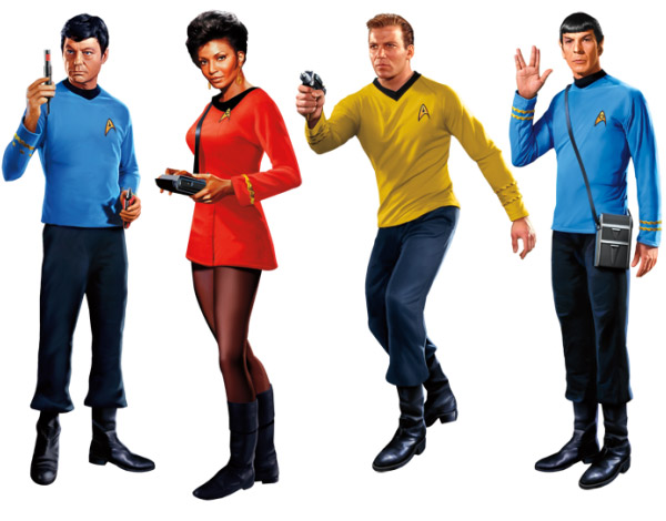 Star Trek Characters Pictures Star Trek Character Decals