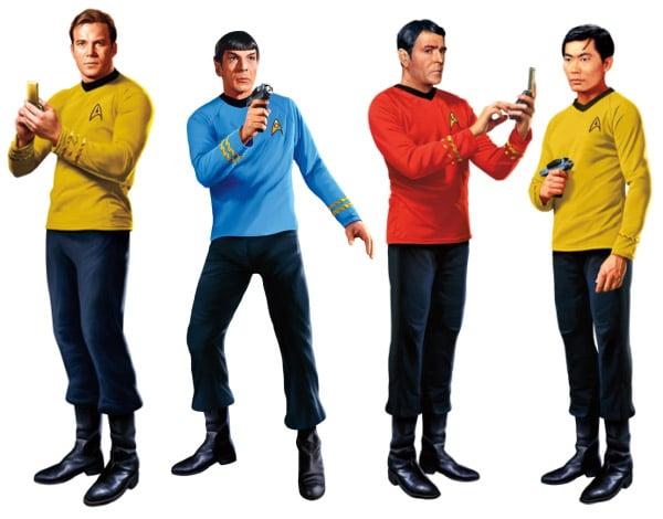 Star Trek Character Decals