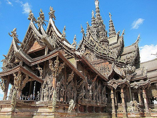 The Sanctuary of Truth - The Awesomer