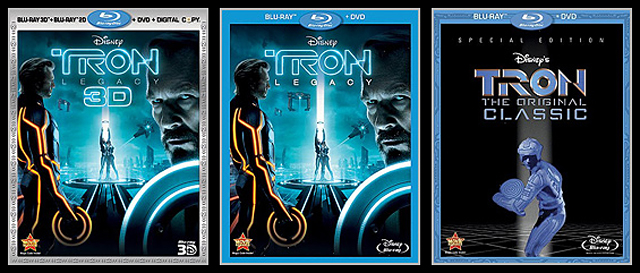 Tron: Legacy 5-Disc Pack