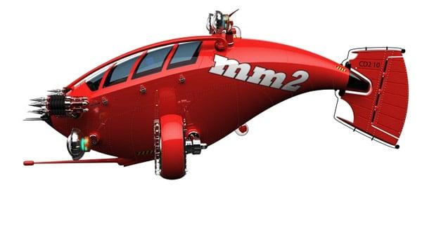 Neptune MM2 Submarine
