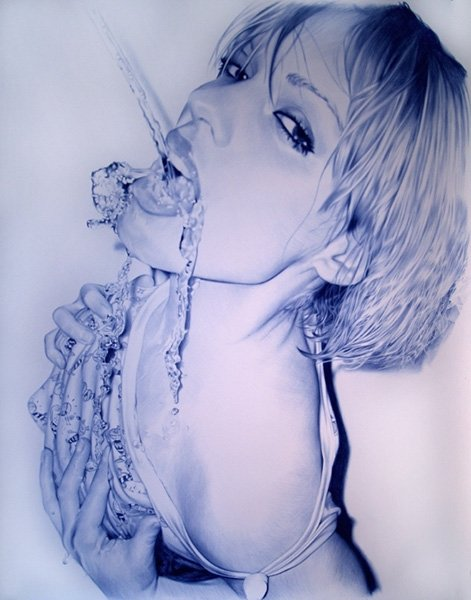 Ballpoint Pen Drawings