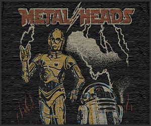Star Wars Metal Heads Tee