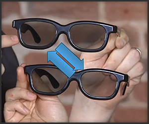 Turn 3D Glasses Into 2D Glasses