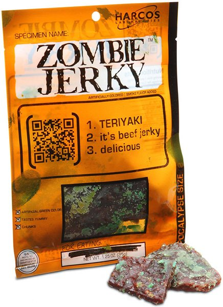 ThinkGeek Zombie Jerky