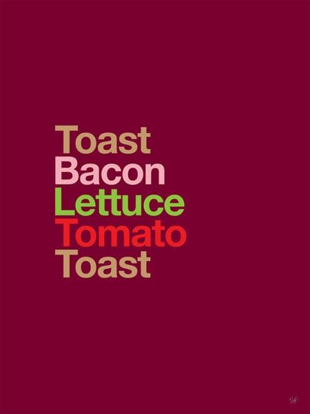 Type Sandwiches Series