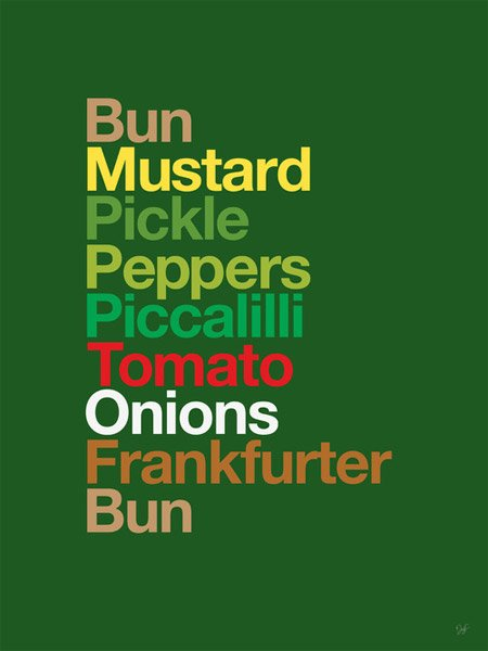 Type Sandwiches Series