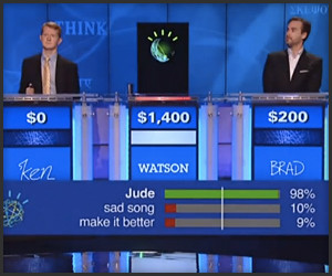 Jeopardy! IBM Challenge Day 1