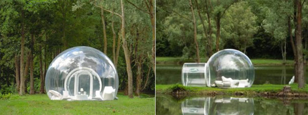 BubbleHut and BubbleLodge