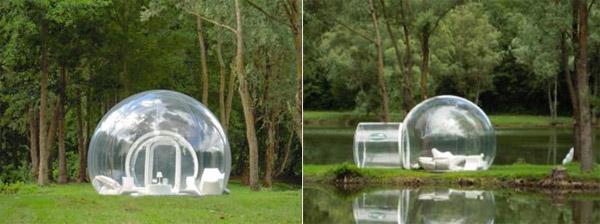 BubbleHut and BubbleLodge
