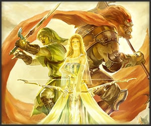 Epic Legend of Zelda Fan Art
