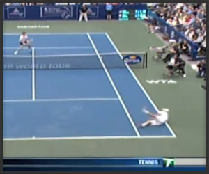 Andy Roddick Dive Shot