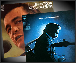 Johnny Cash Prison LPs
