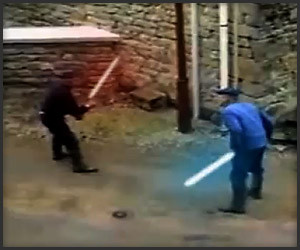 Old Men With Lightsabers