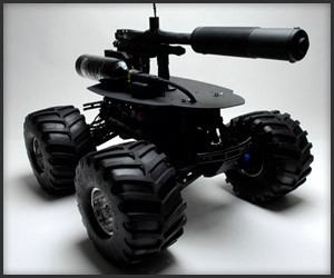 R/C Paintball Robot