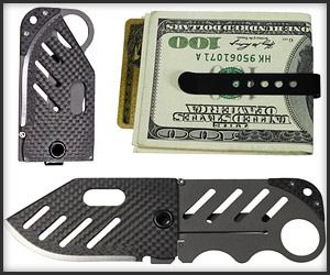 Creditor Money Clip + Knife