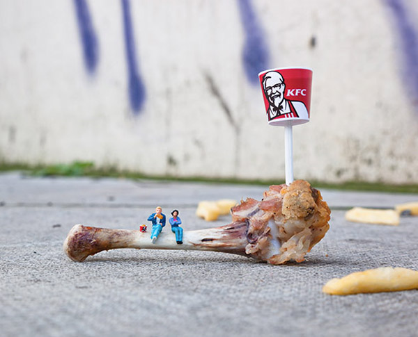 Miniature Street Art