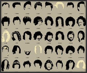 Rock Hair Infographic