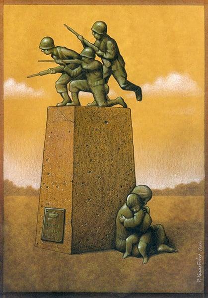 Pawel Kuczynski's Satirical Art