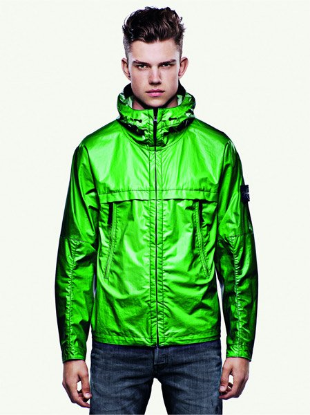 Art Wall Jr Green Jacket : Stone island ice jacket the awesomer