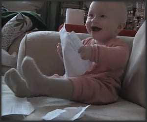 Baby Loves Ripping Paper