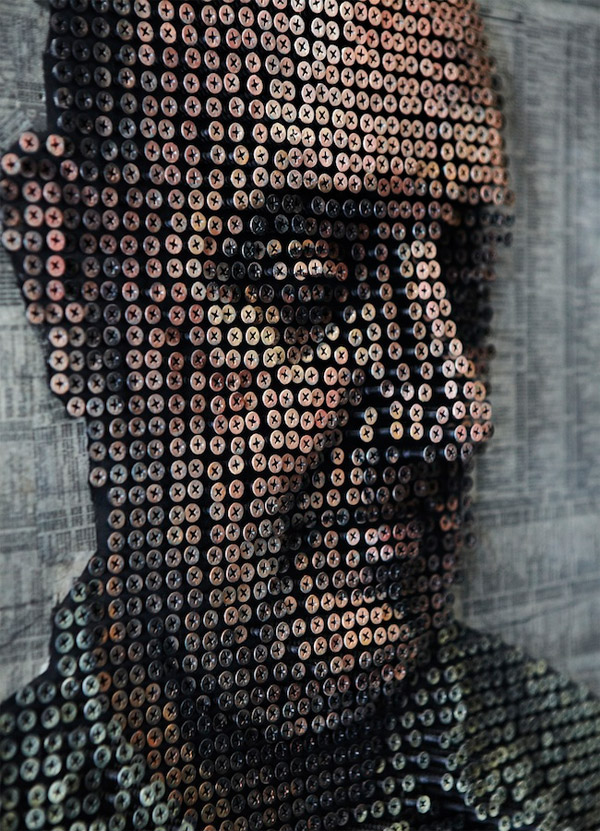 3D Screw Portraits