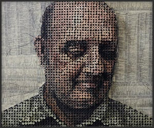3D Screw Portraits